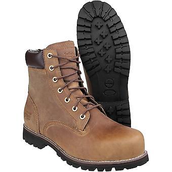Timberland Herre Eagle Pro Penetration resistent læder arbejde sikkerhed Boot