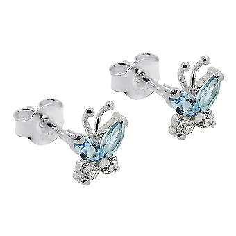 Plug, butterfly, Silver 925
