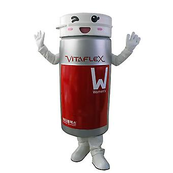 mascot SPOTSOUND of box of grey and Red tablets
