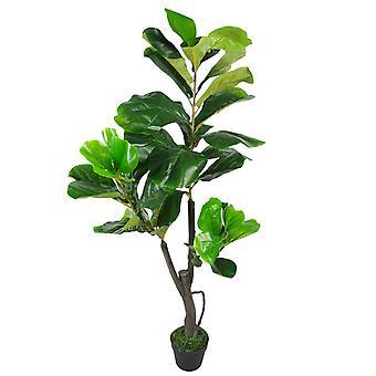 120cm (4 pi) grand violon artificielle figuier Ficus Lyrata plante