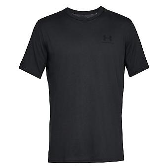 Under panser Sportstyle venstre bryst 1326799001 universal alle år mænd t-shirt