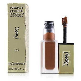 Yves Saint Laurent Tatouage Couture os Metallics - # 103 Tribal cobre - 6ml/0,2 oz