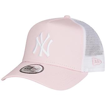 New era adjustable Trucker Cap - MLB New York Yankees pink