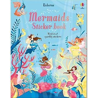 Livro de etiqueta sereias por sereias Sticker Book - livro 9781474956727