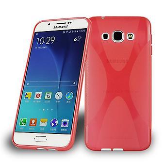 Cadorabo sag for Samsung Galaxy A8 2015 sag sag dække - telefon sag lavet af fleksibel TPU silikone - silikone tilfælde beskyttende sag Ultra Slim Soft Back Cover Case Bumper