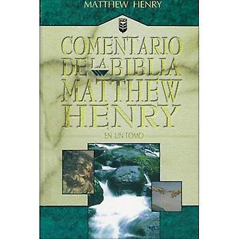 Comentario Biblia Matthew Henry En Un Solo Tomo