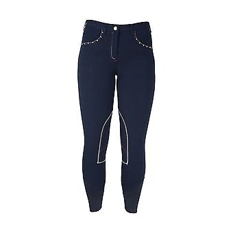HyPERFORMANCE Womens/Ladies Diamante Breeches