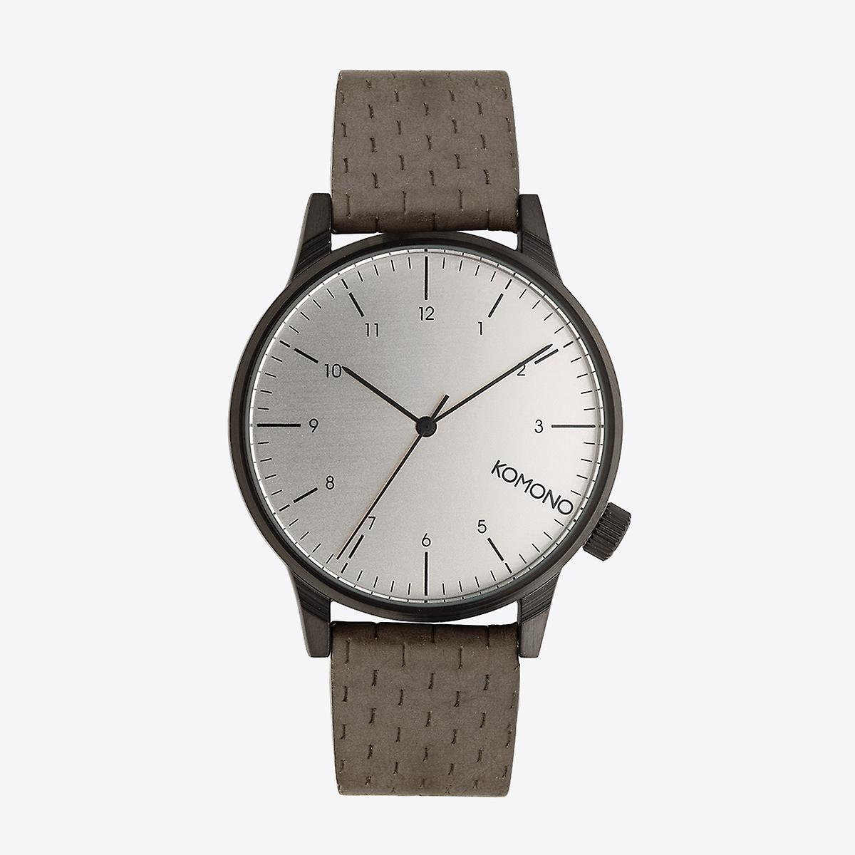 Komono Winston Concrete Watch Watch