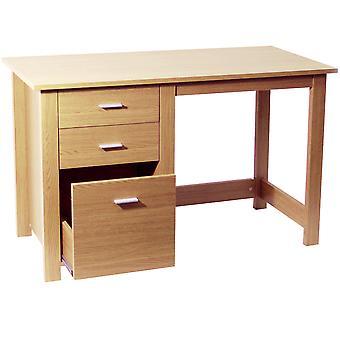 Montrose - Innenministerium Lagerung Schreibtisch / PC-Arbeitsplatz - Buche