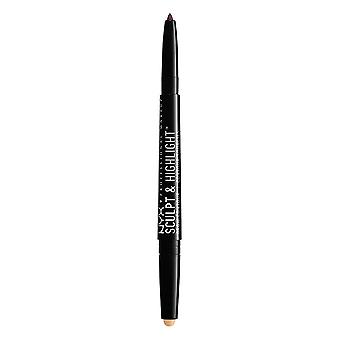 NYX PROF. MAKEUP Sculpt & Highlight Brow Contour-Exspresso/Light Beige