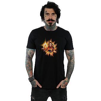 Marvel miesten Avengers Endgame Kapteeni Marvel Blast T-paita