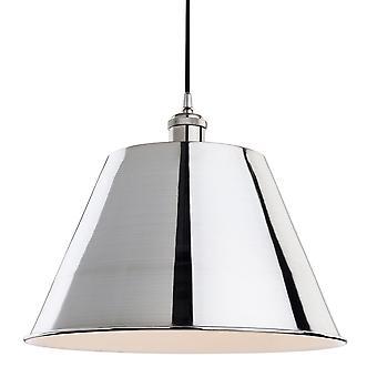 Firstlight-1 lys loft vedhæng børstet krom-4873BC