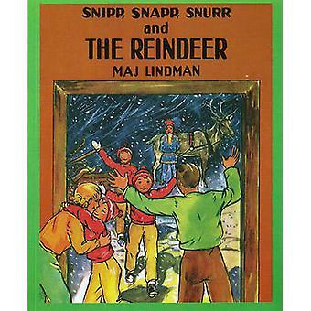Snipp - Snapp - Snurr and the Reindeer by Maj Lindman - Maj Lindman -