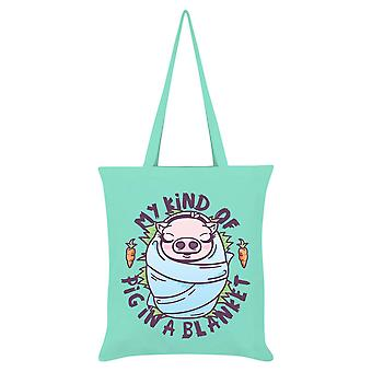 Grindstore My Kind Of Pig In A Blanket Tote Bag