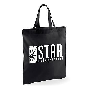 Flash Star Labs Logo Tote Bag