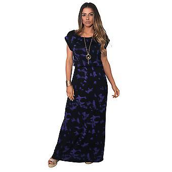 KRISP Tie Dye Jersey Maxi jurk