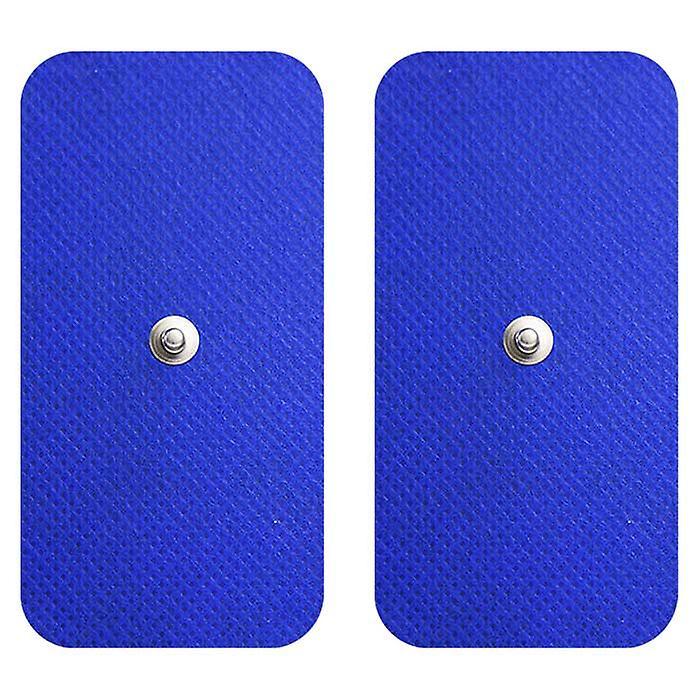 MED-FIT 5x10cm Pack of 16 Flexi Stim 3.5mm Stud TENS Self-Adhesive Pads