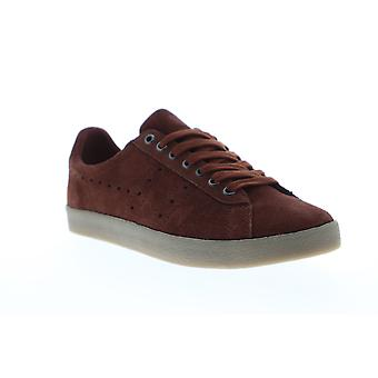 Gola Tourist  Mens Brown Suede Retro Low Top Lifestyle Sneakers Shoes