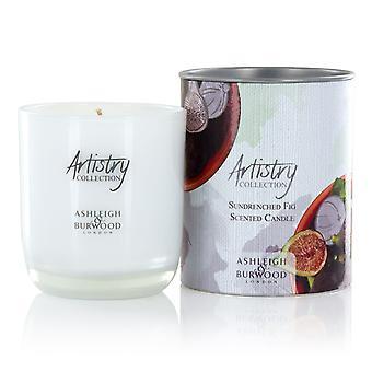 Artistry Collection duftende stearinlys jar medium 200g Sundrenched fig