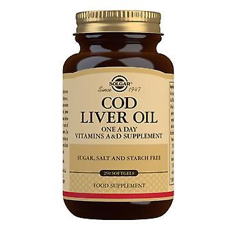 Solgar Cod Liver Oil Softgels 250 (941)