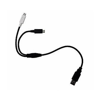 سبرينت مايكرو USB Y-سبليت Y-شحن كابل البيانات، لأجهزة مايكرو USB