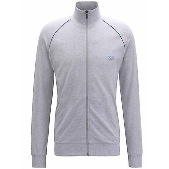 Boss Grey Mix & match zip Sweatshirt