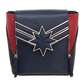 Captain Marvel mini rugzak met ritssluiting vooraan