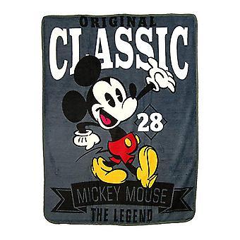 Mickey Mouse Classic fleece tæppe