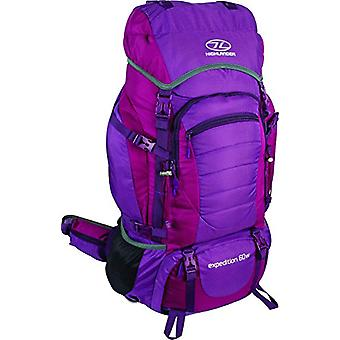 Highlander Scotland Expedition 60W - Unisex-Adult Backpack - Purple - 60