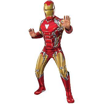 Män Iron Man kostym-Avengers: Endgame