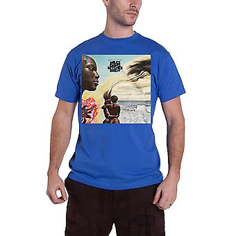 Miles Davis T Shirt Bitches Brew cover new Official Mens Blue