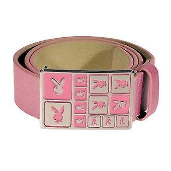 Bälte Playboy Pink Genuine Leather With Buckle Bt0076