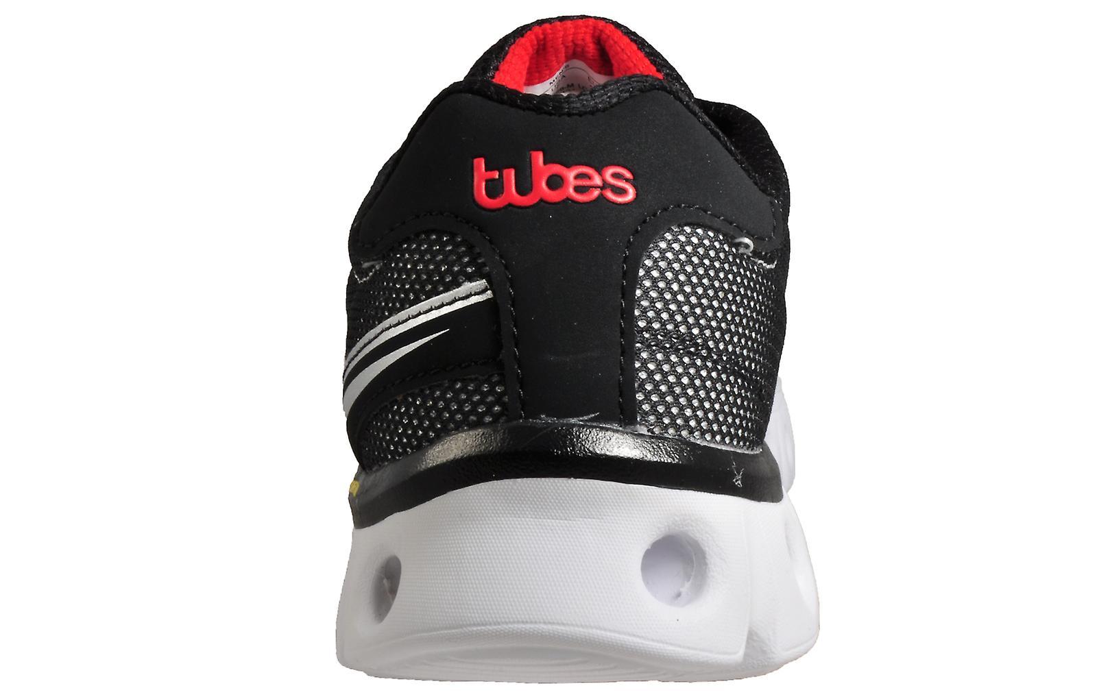 K Swiss Tubes X Lite Memory Foam Black/White/Red