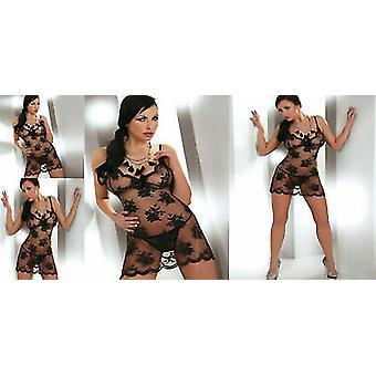 ليفكو كورسيتي الملابس الداخلية مثير & أبوس&ميدوري & انظر من خلال Chemise وG-سلسلة