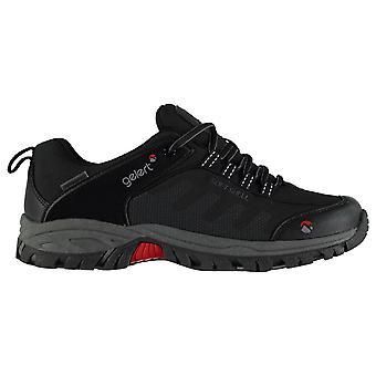 Gelert Mens Softshell lopen schoenen waterdicht Lace Up ademend lichtgewicht