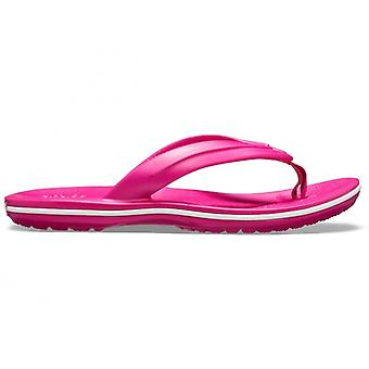 Crocs 205778 Crocband Flip Girls Toe Post Sandals Candy Pink