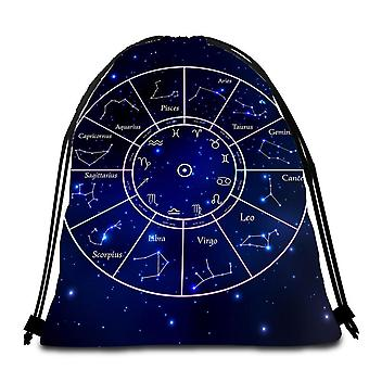 Simply Wholesale Zodiac Beach Towel