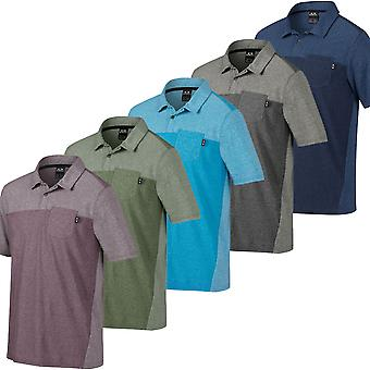 Oakley Golf Mens Foundation Performance Tech Camisa polo de manga curta
