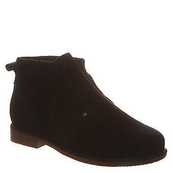 Bearpaw Carmel Women's Chukka Boot Black - 7.5 Medium, Black, Size 7.5