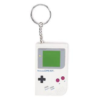 Nintendo Original Rubber Gameboy Keyring, Multi-Coloured (KE201501GBA)