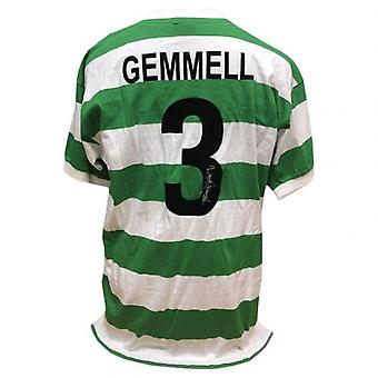 Celtic Gemmell Signed Shirt