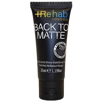 Rehab London Back to Matte Anti Shine Mattifying Gel 35ml