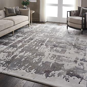 Prismatic PRS12 Silver Grey   Rectangle Rugs Modern Rugs