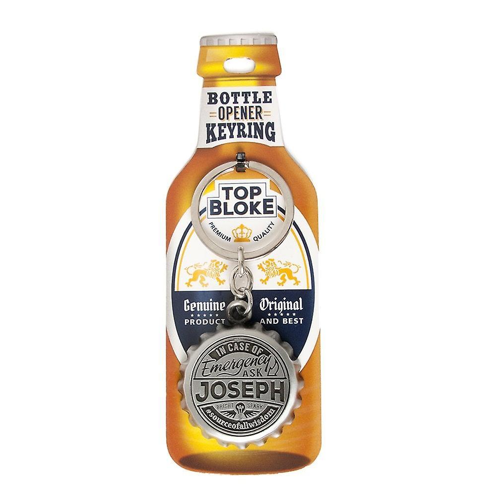 History & Heraldry Keyring - Joseph Bottle Opener