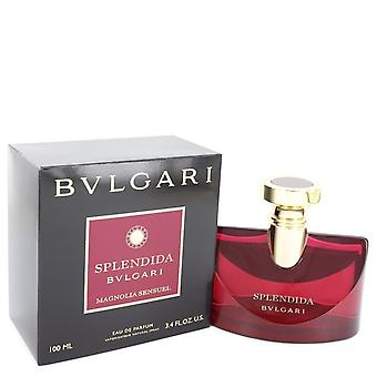 Bvlgari Splendida Magnolia Sensuel by Bvlgari Eau De Parfum Spray 3.4 oz  / 100 ml (Women)