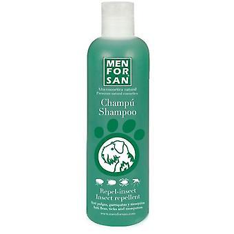 Men For San Natuurlijke Honden shampoo met citronella