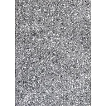 "3'3"" x 5'3&; Polyester Grey Heather Area Rug"