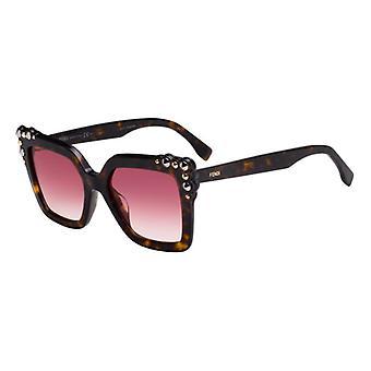 Fendi Can Eye FF0260/S 086/3X Gafas de Sol Dark Havana/Pink Gradient