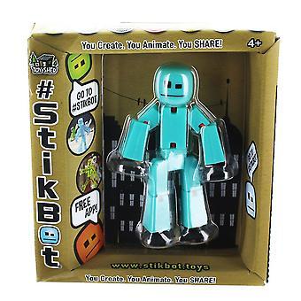 Stikbot Figure Aqua Solid Colour