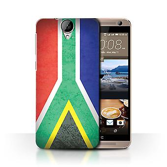 STUFF4 Case/Cover for HTC One E9/E9+/Plus/South Africa/African Flag